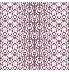 abstract isometric pattern vector image vector image