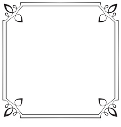 frame Element for design in retro style vector image vector image