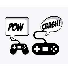 Video gamers vector