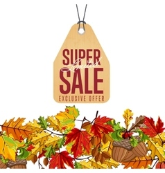 Limited super sale label exclusive offer vector