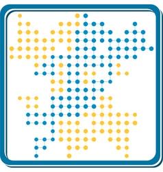 network lattice2 vector image