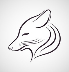 Coyote logo vector