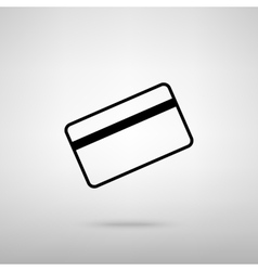 Credit card symbol for download vector