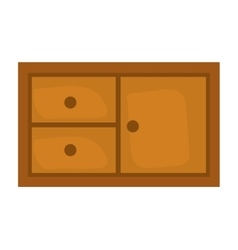 Shelf icon furniture design graphic vector
