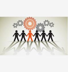 Human unity vector