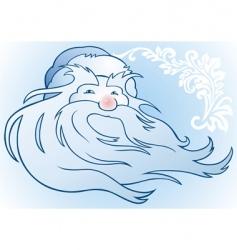 Russian Santa Claus vector image vector image