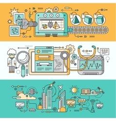 Smart innovation technology vector