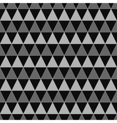 Triangle geometric seamless pattern 2208 vector image vector image