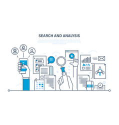 Analysis of information communication services vector