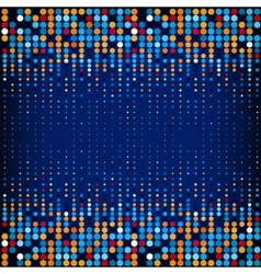 Background with the colored circles in a vector image