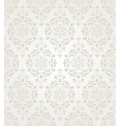 Floral vintage wallpaper vector