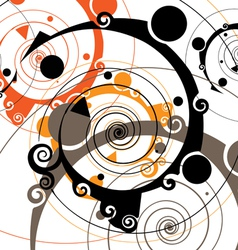 retro styled vector image vector image