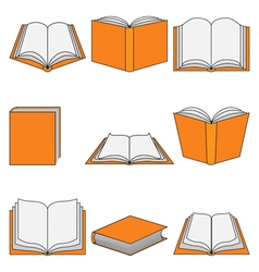 Book icon-education vector