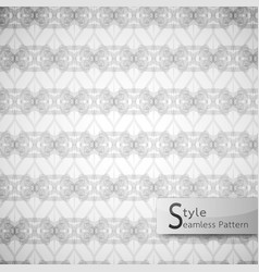 Abstract seamless pattern mesh rope ribbon white vector