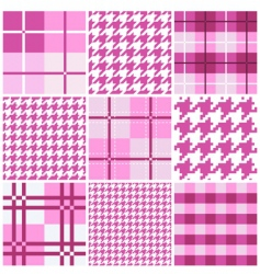 pattern collection vector image