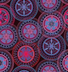 Boho tribal seamless pattern vector