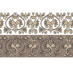 Horizontal historical ornament vector