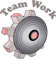 Team Work vector image vector image
