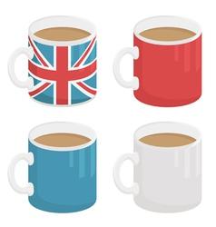 uk mug vector image vector image