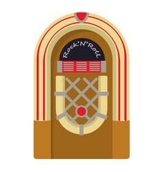 jukebox icon cartoon style vector image
