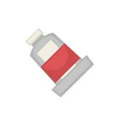 Half filled tube vector