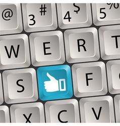 Concept social media vector