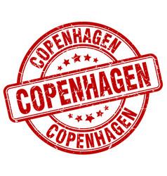 Copenhagen stamp vector
