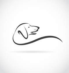 Image of an dog dachshund vector