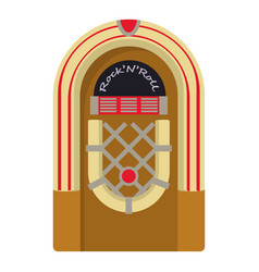 Jukebox icon cartoon style vector