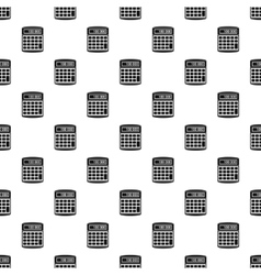 Calculator pattern simple style vector image