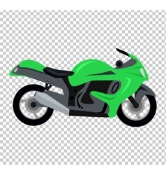 Cool motorcycle isolated vector