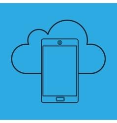 Cloud computing data storage vector