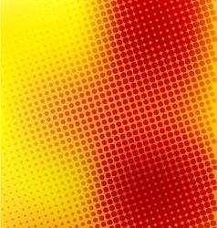 creative random halftone background vector image