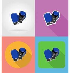 Sport flat icons 10 vector