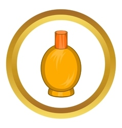 Packaging for perfume icon vector
