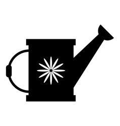 Watering can icon simple style vector