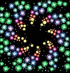 Gem Background vector image