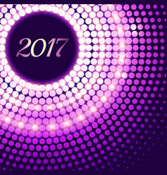 Amazing 2017 new year celebration background with vector