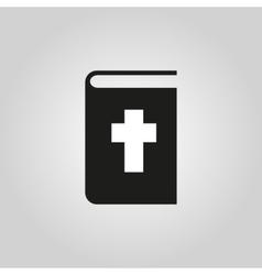 Bible icon design Religion symbol web vector image vector image