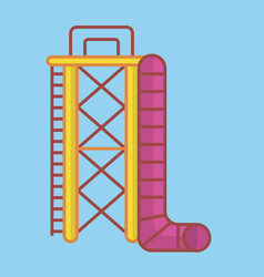 Big ladder and slide vector