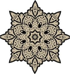 Mandala ethnic indian design vector