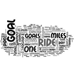 A goal for this century text word cloud concept vector