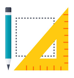 geometry icon vector image vector image