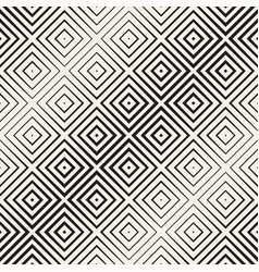trendy monochrome line lattice seamless vector image