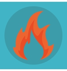 Flame icon design vector