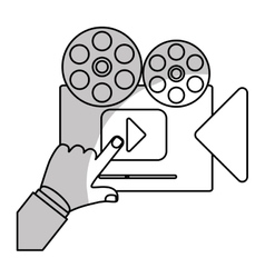 entertainment and technology design vector image