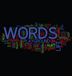The awesome power of words text background word vector
