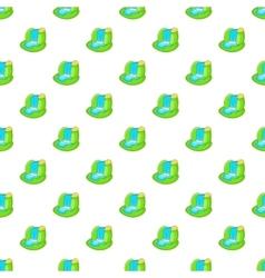 Waterfall pattern cartoon style vector