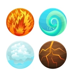 Four Element Set vector image