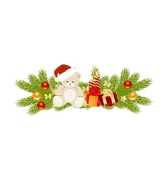 Xmas decoration vector